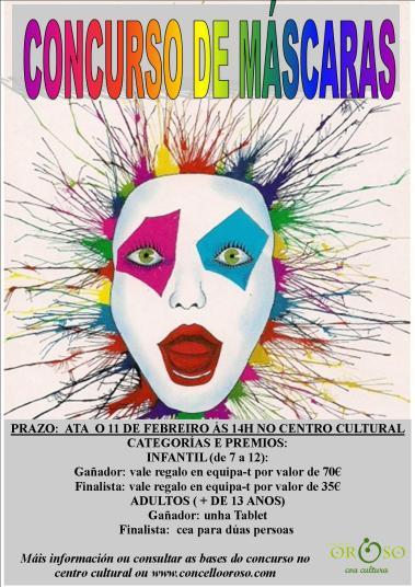 Concurso de máscaras xaneiro 2015