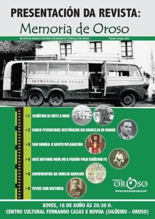150618 Revista Memoria de Oroso
